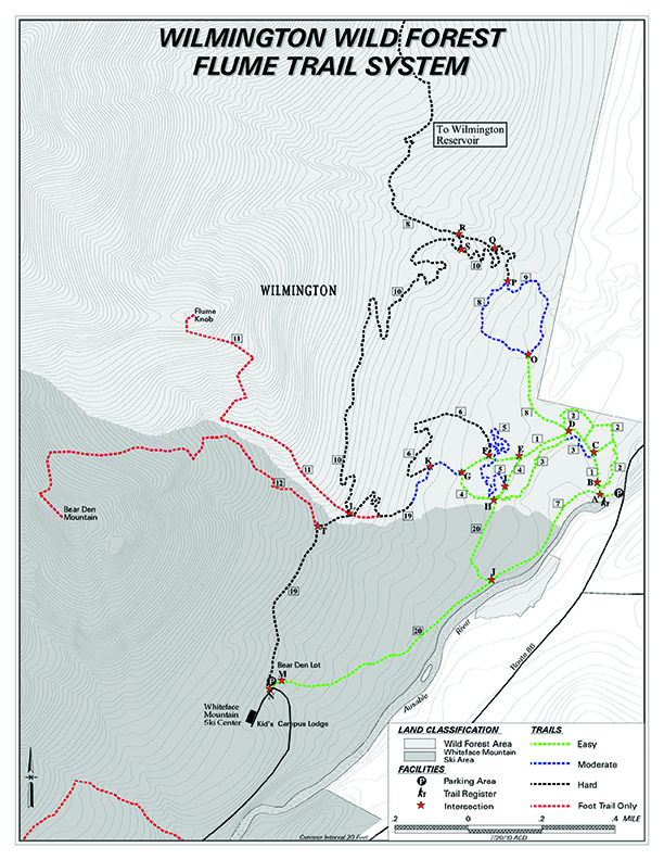 Wilmington Wild Forest Flume Trail System
