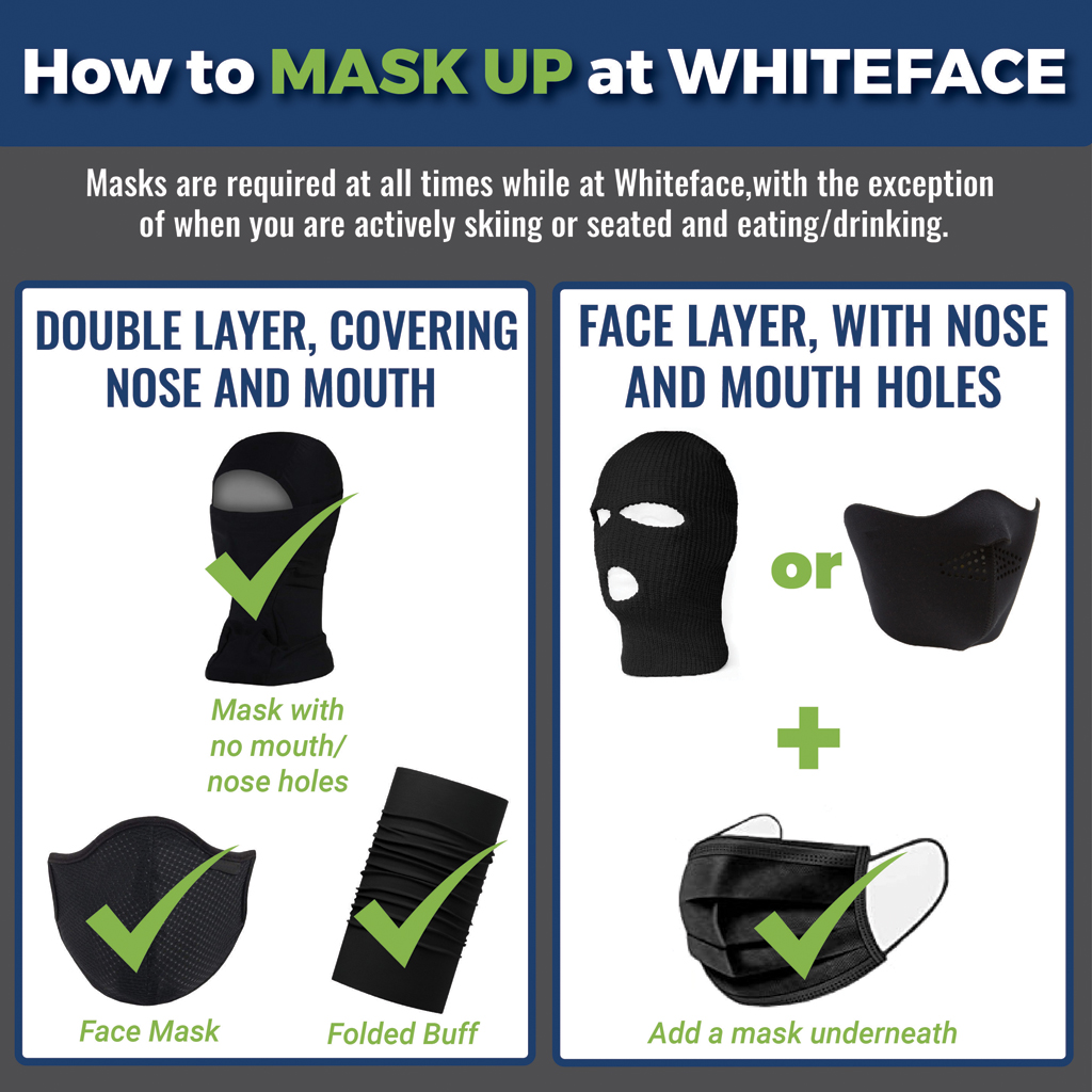 How to Mask Up at Whiteface