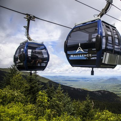 New Cloudsplitter Gondola on top of Little Whiteface